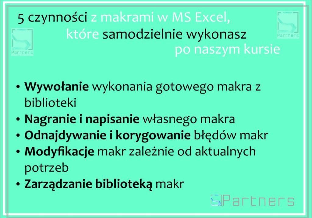 Podstawy makr w Excel